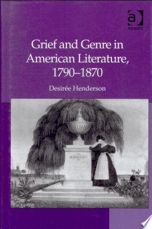 Edgar Books: Book Grief and Genre in American Literature, 1790-1870