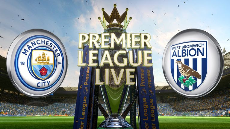 Image result for Manchester City vs W.B.A