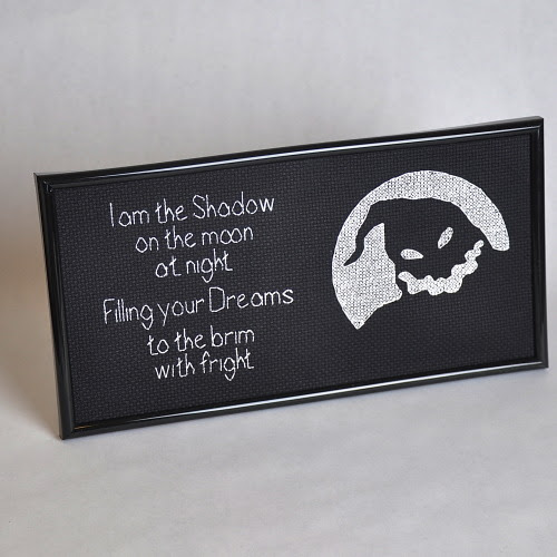 I am the Shadow - Oogie Boogie Cross Stitch