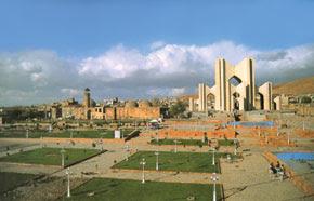 Maqbaratul Sho'ara. The Poets Mausoleum. Tabriz