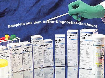 Combur 10 Test, 100 Stück Harntest Urintest - Medikbedarf