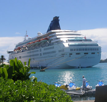 Norwegian Majesty in St. Georges, Bermuda