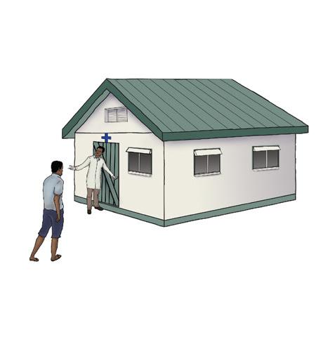 Illustration - rural clinic