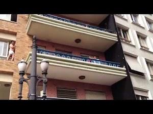 Amante tenta pular de prédio em SP