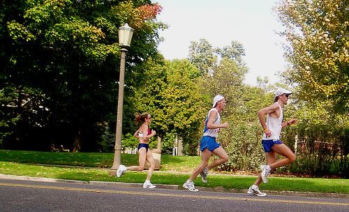 The final mile with friends
