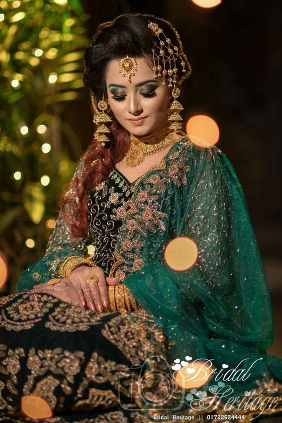 mehndi dresses choice pakistani cute brides 2019 2
