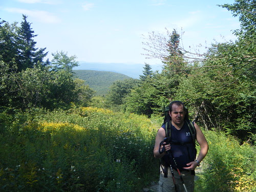 Mount Greylock via the Money Brook Trail and descent via Hopper Trail