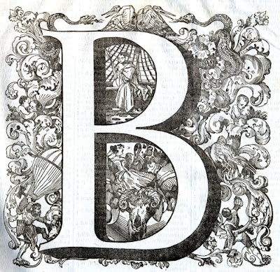 The letter B - alphabet iconography