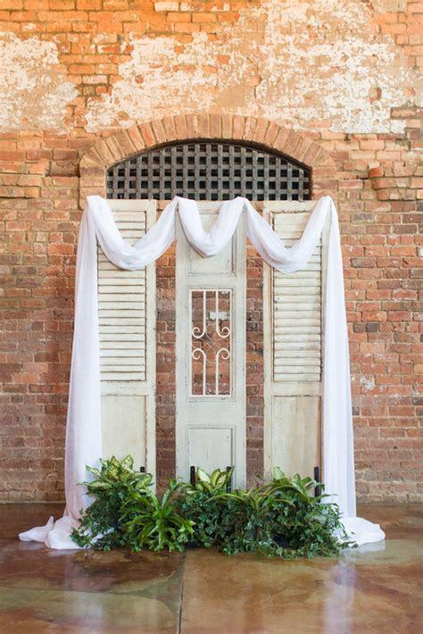 Indoor Wedding Arch Ideas