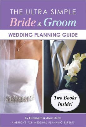 Ultra Simple Bride & Groom Wedding Planning Guide by Alex