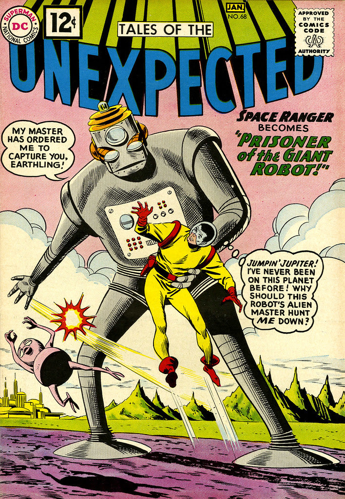 Tales of the Unexpected #68 (DC, 1962)Bob Brown cover