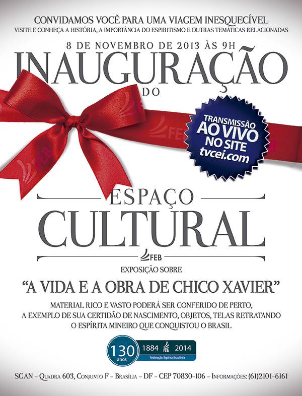 Convite - Espaço Cultural da FEB