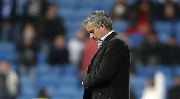 Entrenador Madrid, Jose Mourinho berambisi singkirkan Setan Merah (foto: Reuters)