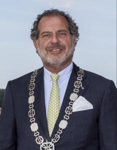 'Burgemeester Jaap Nawijn'- Foto: Hollands Kroon