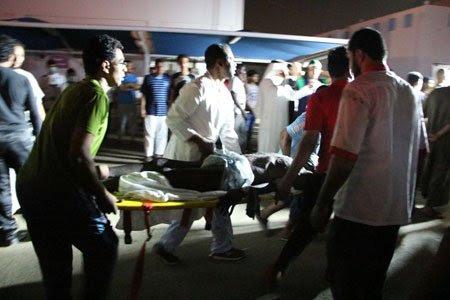 Hình ảnh Cháy lớn tại bệnh viện Saudi Arabia khiến hơn 130 người thương vong số 1