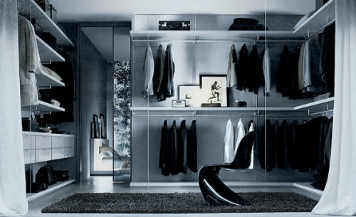 Home Walk-in Closet Interior Design Tips and Ideas