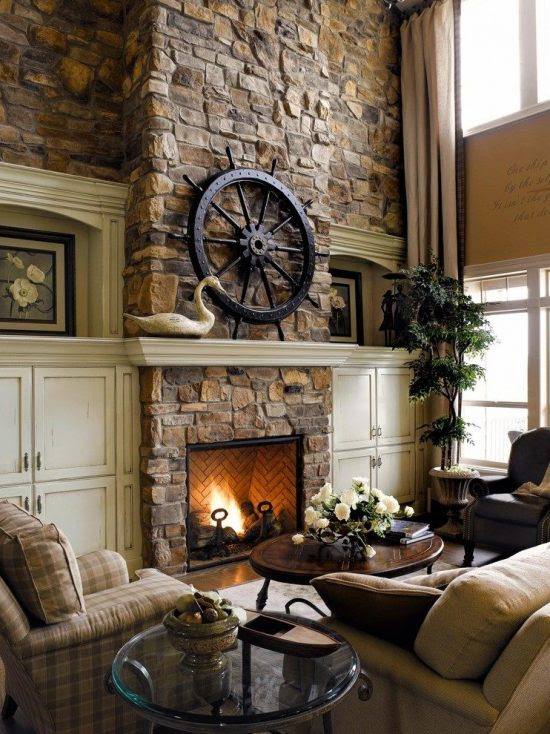 5 Chic and Creative Ideas for Decorating a Fireplace ...