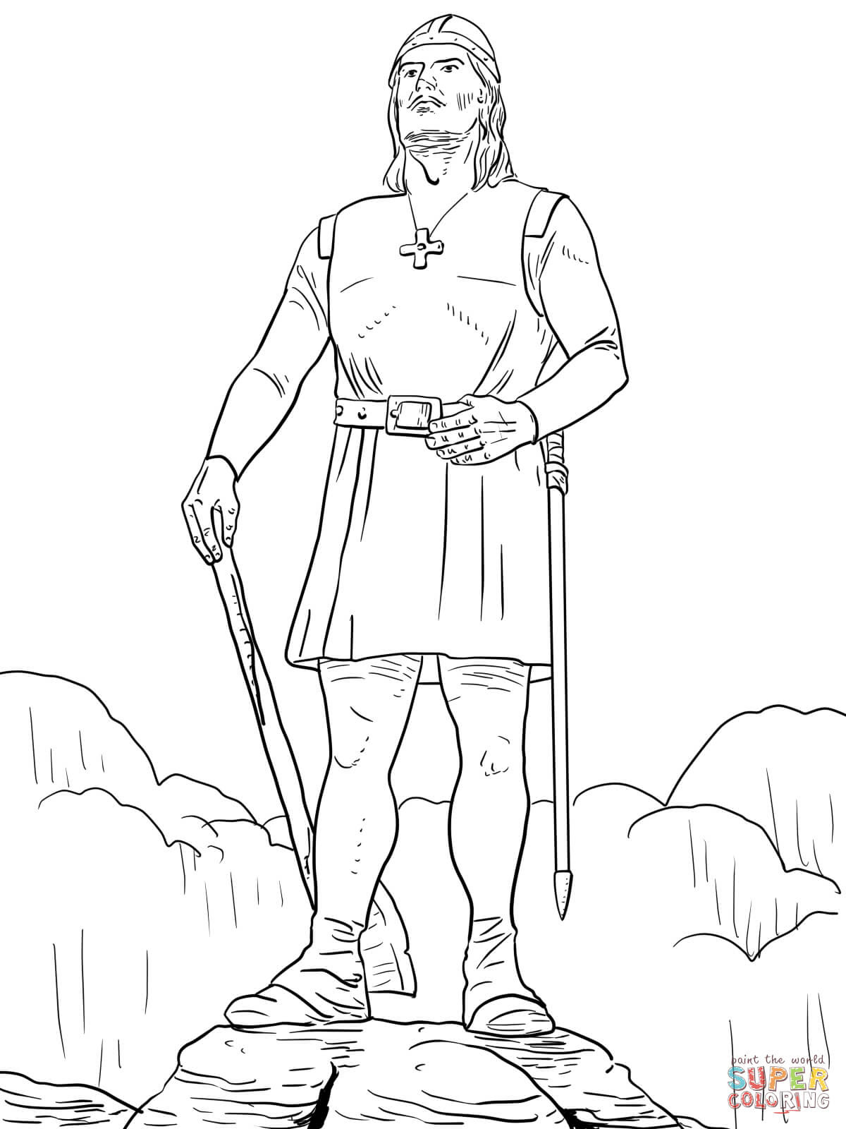 Download Viking coloring pages to download and print for free