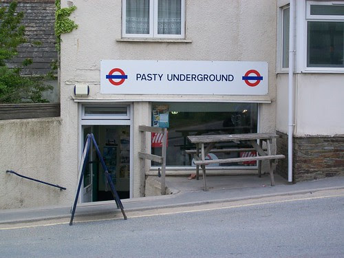 Pasty Underground by Alan Perryman