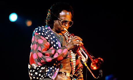 Miles Davis in 1989
