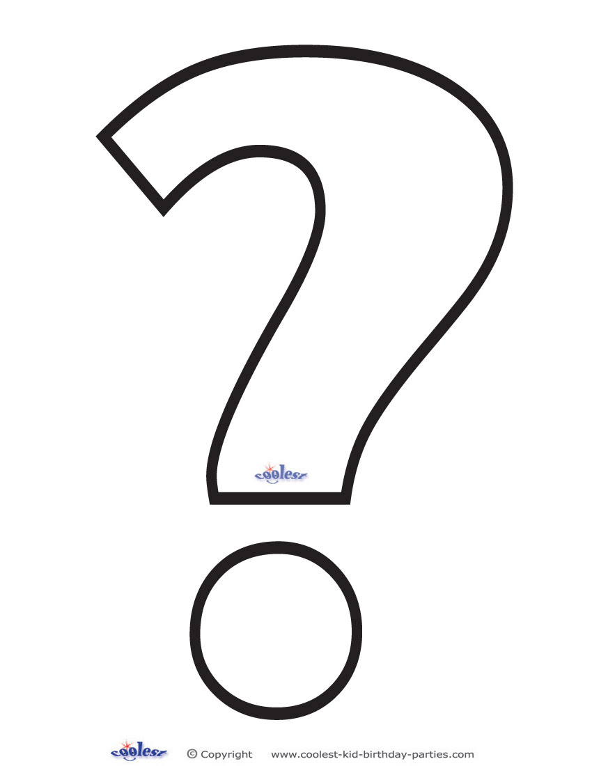 Pictures Of Question Marks Printable - ClipArt Best