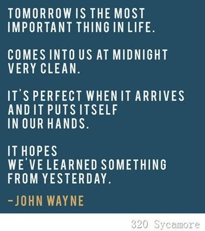Tomorrow Is A New Day Inspiring Quotes And Sayings Juxtapost