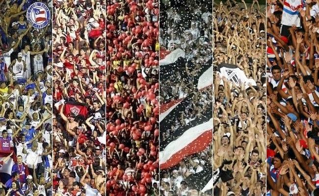 Bahia x Vitória, Sport x Santa Cruz e Ceará x Fortaleza: os maiores clássicos do Nordeste (Foto: Reprodução)