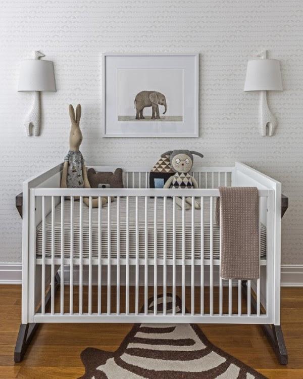 All White Modern Baby Boy's Nursery Design To Get Inspired ...