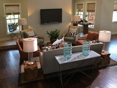 Living Room Photos: HGTV Green Home 2009 : Green Home : Home & Garden Television  living room