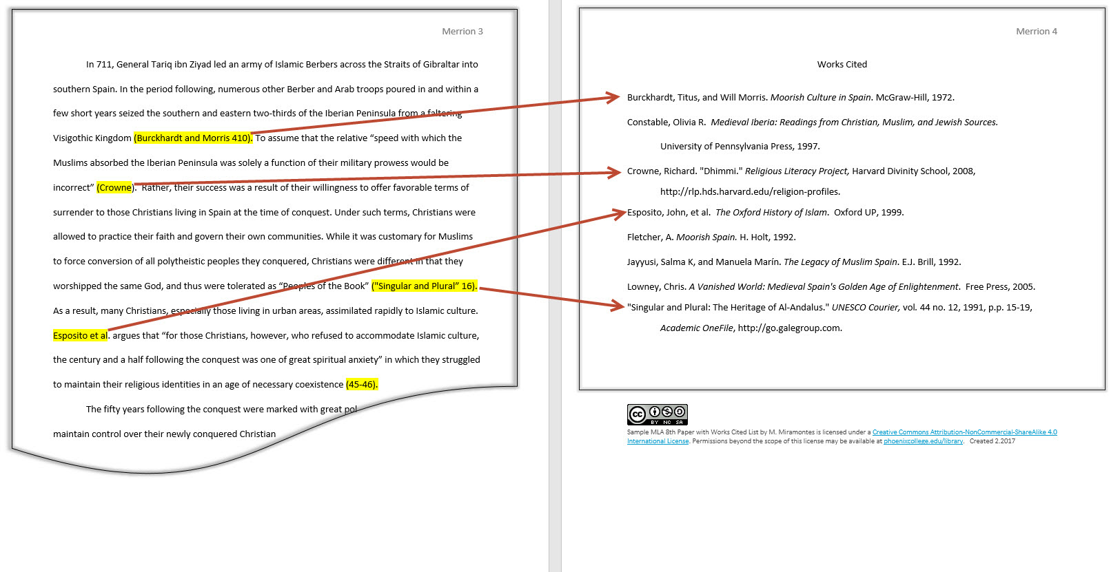 Example of apa research paper reference page