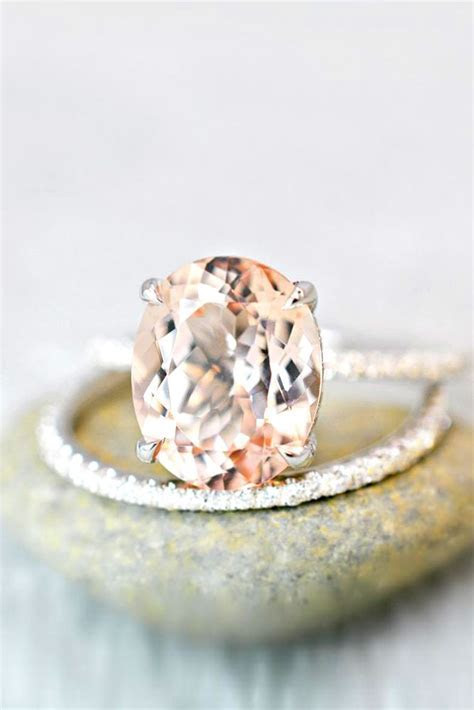 36 Morganite Engagement Rings We Are Obsessed With
