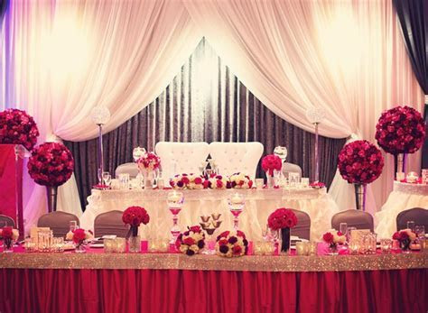 Wedding Head Table Decorations ideas 2015