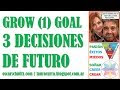GROW (1) GOAL: Las 3 decisiones de futuro @Nego2CIO @EPsicofisico @SchmitzOscar #coaching #psicofisico