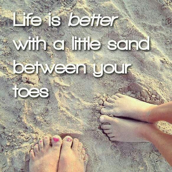 Toes In The Sand Quote Quote Number 675622 Picture Quotes