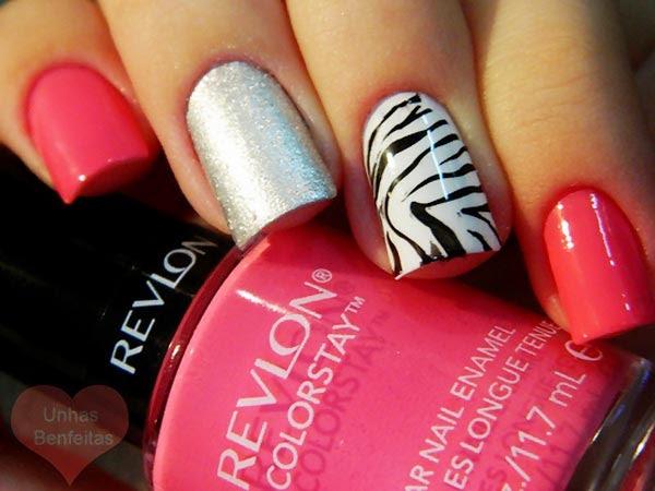 Zebra Nail Design Manicure Style Zebra Nails Art Nail Art Design