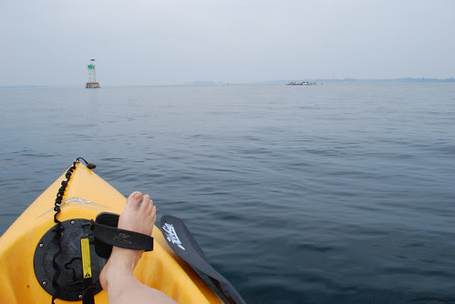 Towards the channel marker