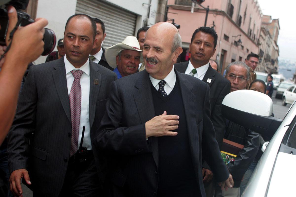 Fausto Vallejo, gobernador de Michoacán. Foto: Enrique Castro