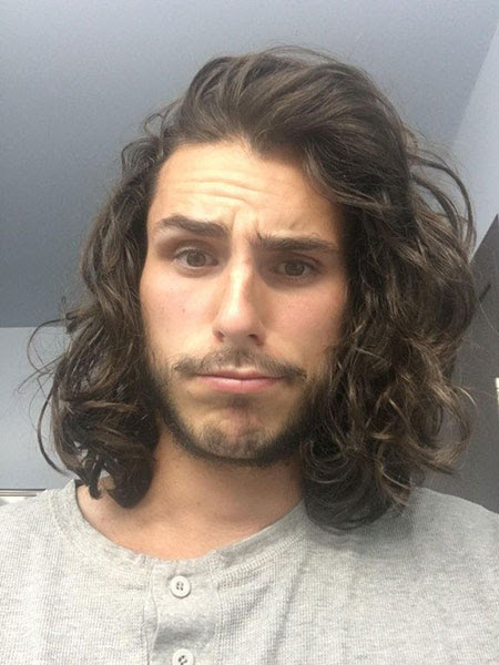 23 Mens  Long  Curly  Hairstyles  Mens  Hairstyles  2019
