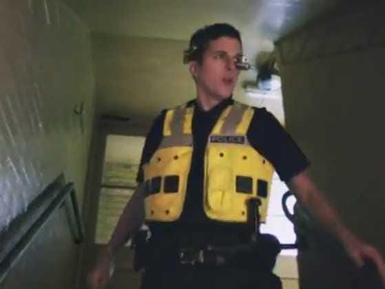 golden i police headset