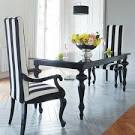 21 Black And White Traditional Dining Areas | DigsDigs
