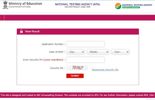 NTA UGC NET June 2020 Result जारी, स्कोर कार्ड और कटऑफ सीधे यहां से करें डाउनलोड