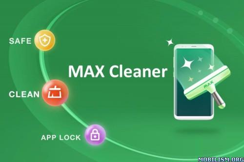 Download)++MAX Cleaner - Antivirus, Phone Cleaner, AppLock