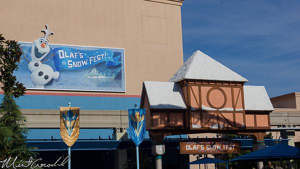 Disneyland Resort, Olaf's, Snow, Fest, Disney California Adventure, Frozen, Fun