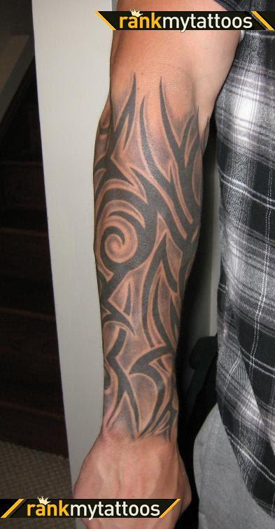 Tribal Freehand Half Sleeve Tattoo For Men Tattoomagz