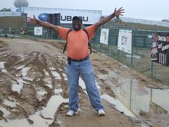 Curt plays in mud