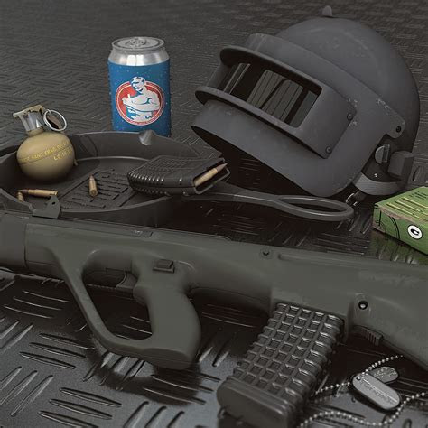 pubg weapons rifle helmet playerunknowns