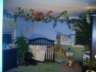 Baby Room Decor Nursery Decorating Ideas Monkey