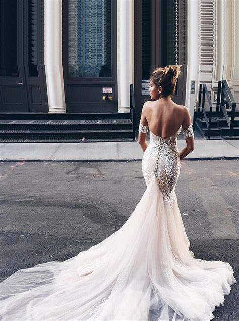 Fishtail Wedding Dresses With Long Train 2019 Collection