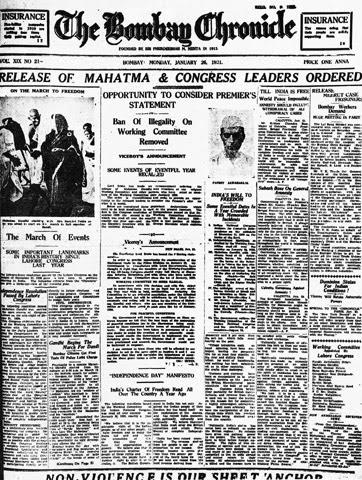 File:Bombay Chronicle January 26 1931.jpg
