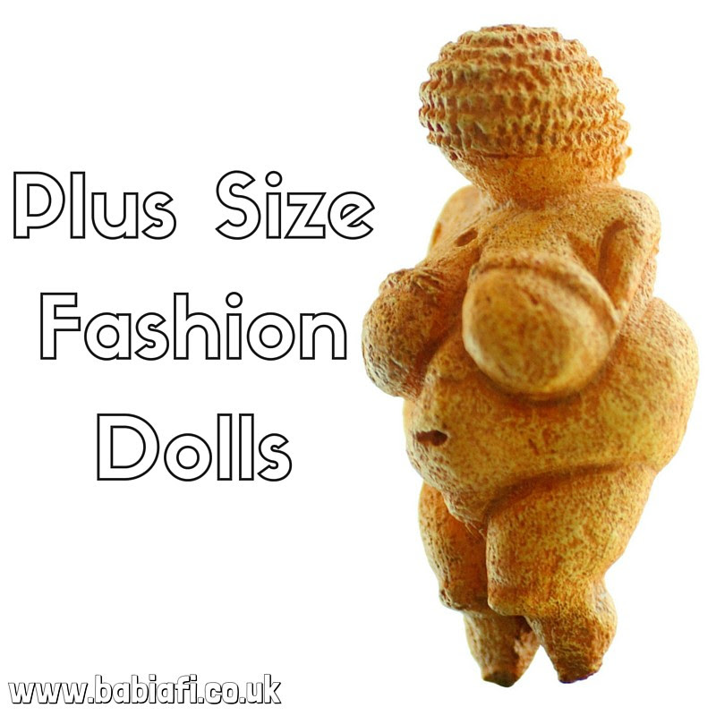 plus size fashion dolls